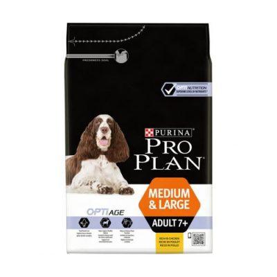 pro plan medium & large adult optiage 7+   14kg