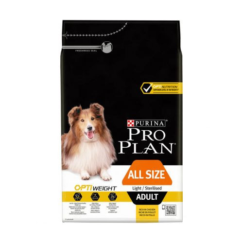 proplan all size adult lightsterilized optiweight