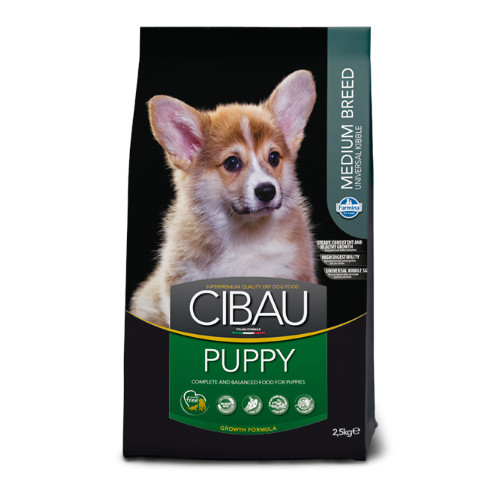 Cibau Puppy Medium Breed 2,5 kg