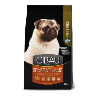 Cibau Adult Mini Breed Sensitive Lamb 2,5 Kg