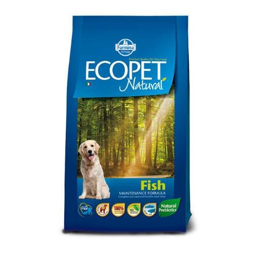 Ecopet Natural Adult Medium Breed Fish