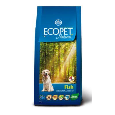 Ecopet Natural Adult Maxi Breed Fish 12kg
