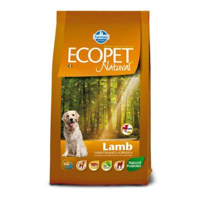 Ecopet Natural Adult Mini Breed Lamb 2,5kg
