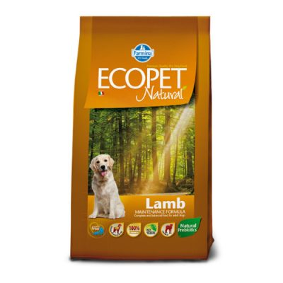 Ecopet Natural Adult Medium Breed Lamb