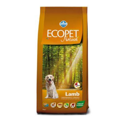 Ecopet Natural Adult Maxi Breed Lamb