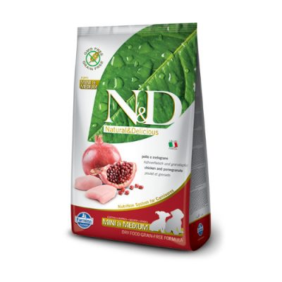N&D Chicken & Pomegranate puppy mini/med 12 Kg