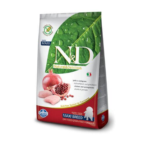 N&D Chicken & Pomegrade puppy Maxi
