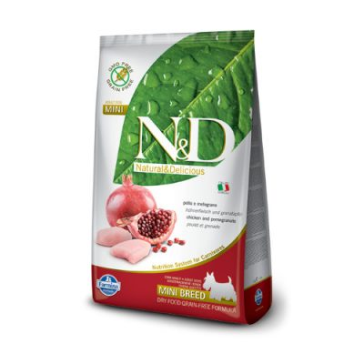 N&D Chicken & Pomegranate adult mini 2.5Kg