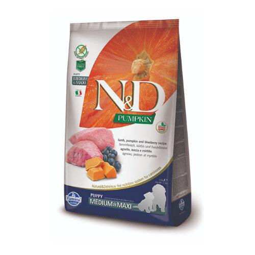 N&D Pumpkin Lamb & Blueberry puppy med/max