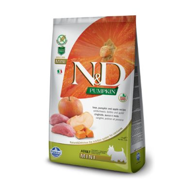 N&D Pumpkin Boar & Apple adult mini 2.5 Kg