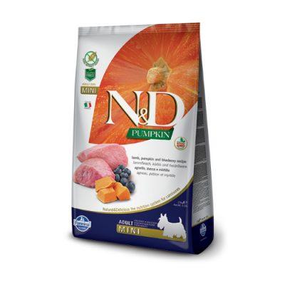 N&D Pumpkin Lamb & Blueberry adult mini