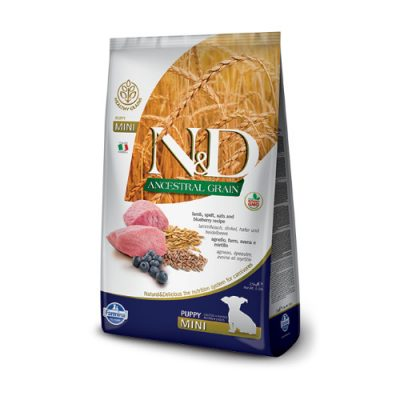 N&D Low Grain Lamb puppy mini 2.5 kg