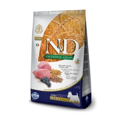 N&D Low Grain Lamb & Blueberry adult mini