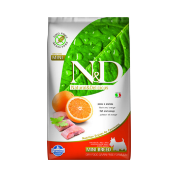 N&D Fish & Orange adult mini 2,5kg