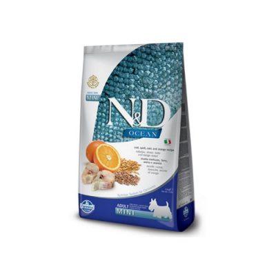 N&D Low Grain Fish & Orange adult mini 0,8 kg