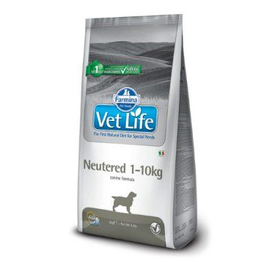 VET LIFE NEUTERED CANINE 2kg ΒΑΡΟΣ <10KG