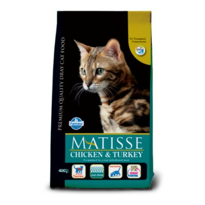 Matisse Chicken & Turkey 0,4 Kg