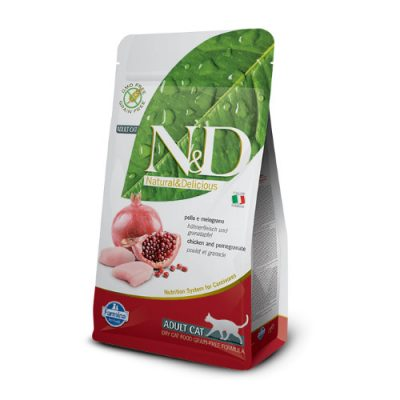 N&D Chicken & Pomegranate adult cat 1.5Kg