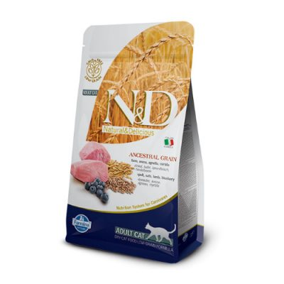 N&D Low Grain Lamb & Blueberry cat 5Kg