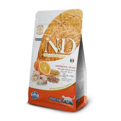 N&D Low Grain Fish & Orange Cat 10 Kg
