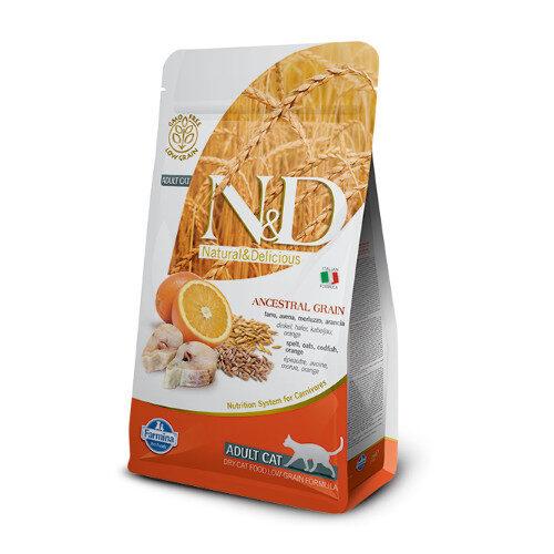 N&D Low Grain Fish & Orange cat