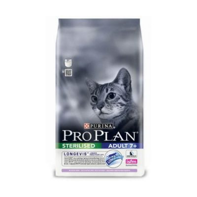Pro Plan Sterilized Adult 7+ Longevis Γαλοπούλα 3 Kg