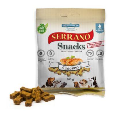 Λιχουδιές Serrano σε μικρές μπουκιές με κοτόπουλο 100gr
