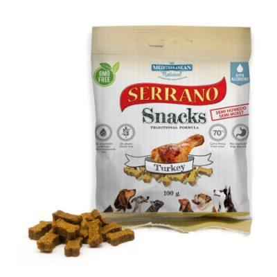 Λιχουδιές Serrano σε μικρές μπουκιές με γαλοπούλα 100gr