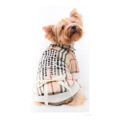 Μπλουζάκι σκύλου BURBERRY