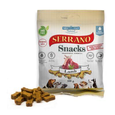 Λιχουδιές Serrano σε μικρές μπουκιές με αρνί 100gr