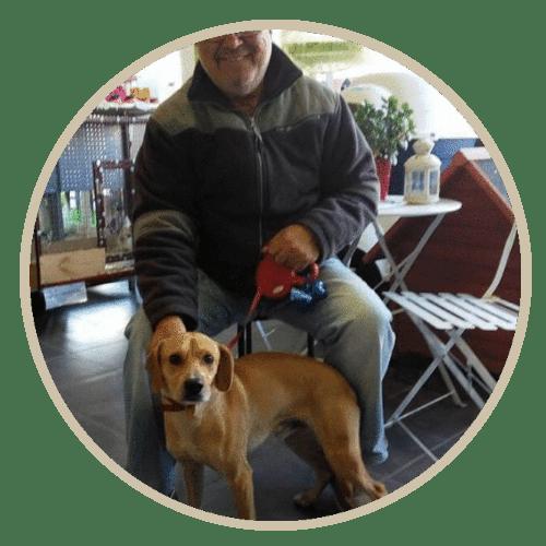 human pet story bruno