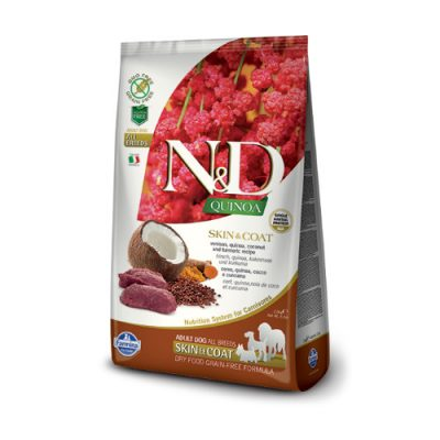 N&D QUINOA Skin & Coat Venison 7 Kg