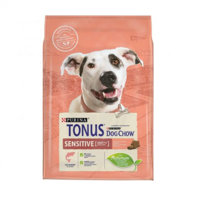 TONUS DOG CHOW ADULT SENSITIVE ΣΟΛΩΜΟΣ 2,5 kg