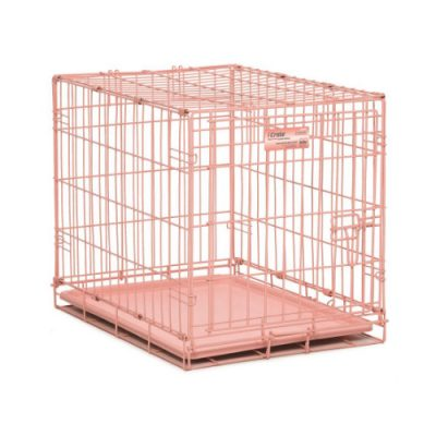 Συρμάτινο Κλουβί i-Crate με 1 πόρτα ροζ