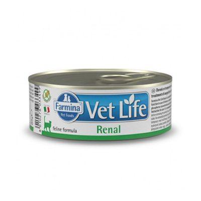 VET LIFE Renal Wet Food Feline 85gr (12τεμ)