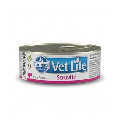 vet life Struvite Wet Food Feline 85gr (12τεμ)