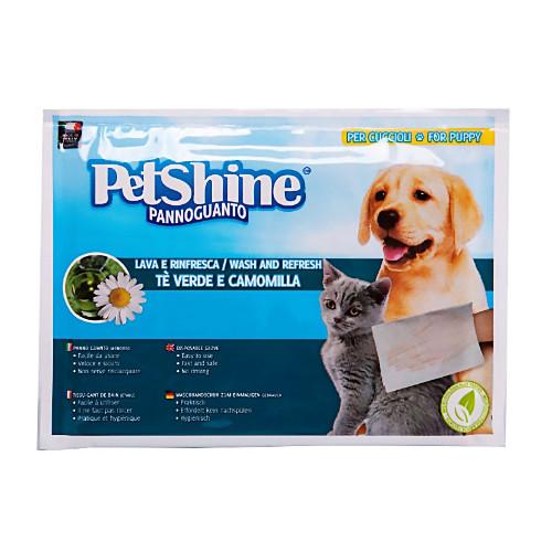 PetShine Γάντι Στεγνού Καθαρισμού Χαμομήλι