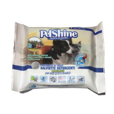 PetShine Υγρά Μαντηλάκια Καθαρισμού Travel Size (15 φυλλα)