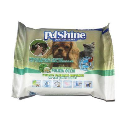 PetShine Υγρά Μαντηλάκια Καθαρισμού Ματιών ( 15 φύλλα)