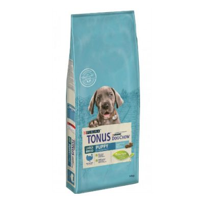 TONUS DOG CHOW LARGE BREED PUPPY ΓΑΛΟΠΟΥΛΑ 14 kg