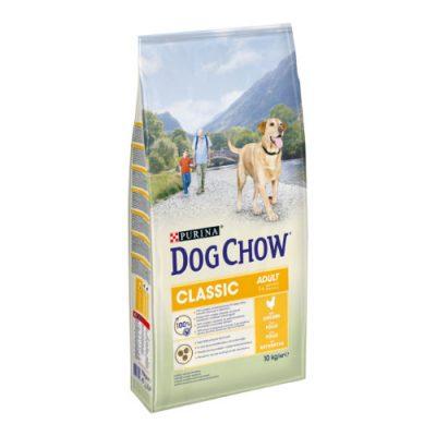 Tonus Dog Chow Classic Adult Κοτοπουλο 10 Kg