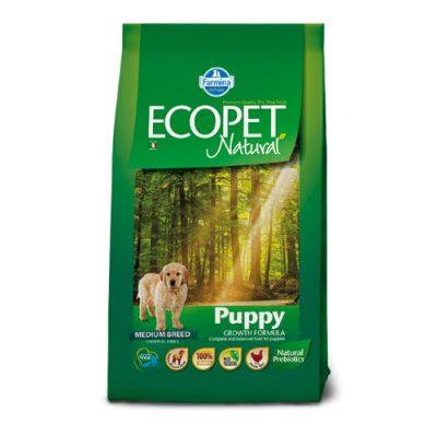 FARMINA ECOPET NATURAL PUPPY MEDIUM 12KG + 2KG ΔΩΡΟ