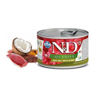 n & d QUINOA WET SKIN & COAT DUCK 140GR (12 τεμαχια)
