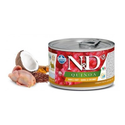 n & d QUINOA WET SKIN & COAT HERRING 140GR (12 τεμαχια)