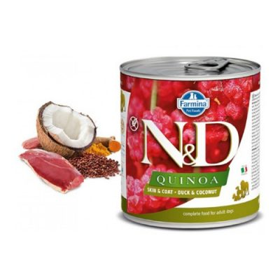 n & d QUINOA WET SKIN & COAT DUCK 285GR (6 τεμαχια)
