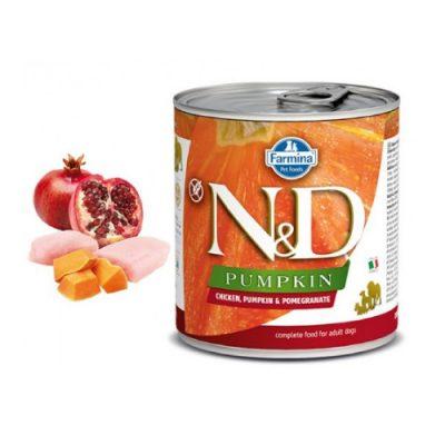 N&D PUMPKIN WET CHICKEN STARTER 285GR (6 TEMAXIA)