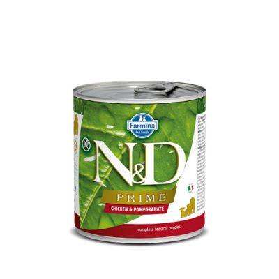 N&D PRIME WET CHICKEN & POMEGRANATE PUPPY 285GR (6 ΤΕΜΑΧΙΑ)