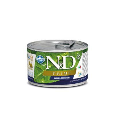 N&D PRIME WET LAMB & BLUEBERRY 140GR (12 ΤΕΜΑΧΙΑ)