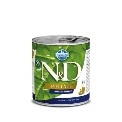 N&D PRIME WET LAMB & BLUEBERRY 285GR (6 ΤΕΜΑΧΙΑ)