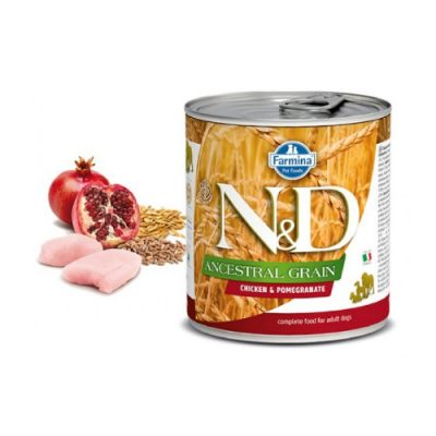 N&D LOW GRAIN WET CHICKEN & POMEGRANATE 285GR (6 TEMAXIA)